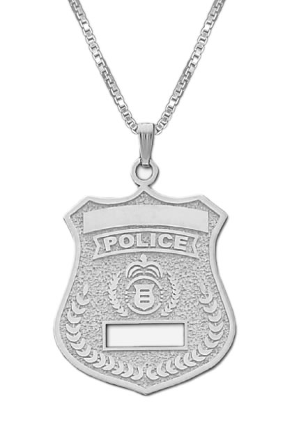 en pj battle htm male police necklace for